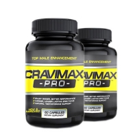 Combo 2 lọ Cravimax Pro Viên uống tăng cường sinh lý