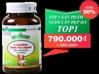 L-Carnitine Green Tea Capsule viên uống giúp giảm cân