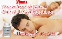 Thuốc chữa rối loạn cương dương Vipmax