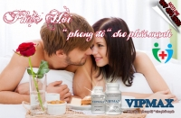 Viên uống hỗ trợ to cậu nhỏ cho nam giới Vipmax