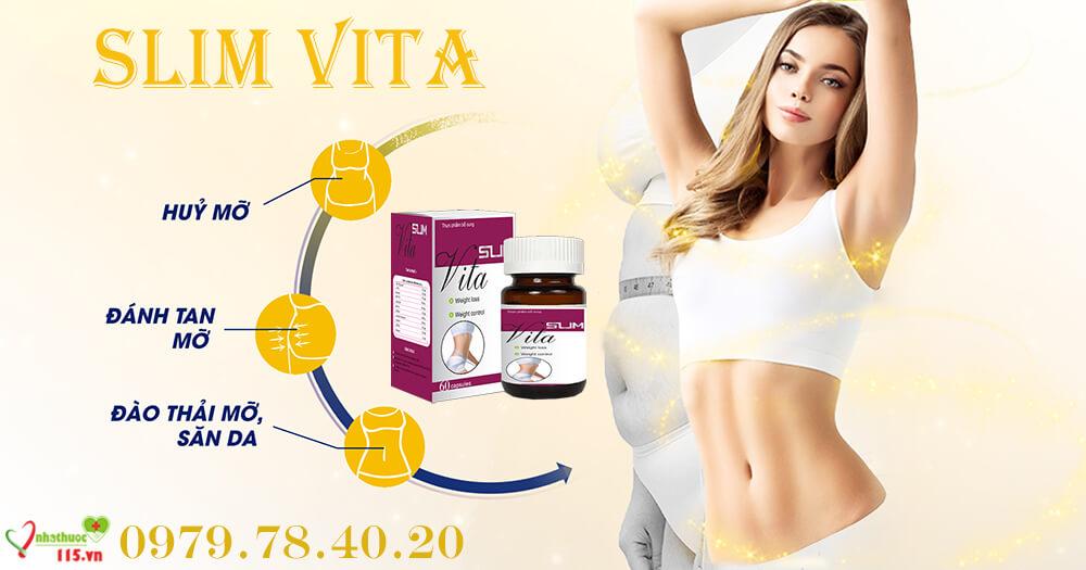 Viên thuốc giảm cân Slim Vita có an toàn không