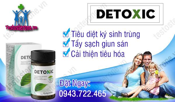 Thuốc detoxic diệt ký sinh trùng