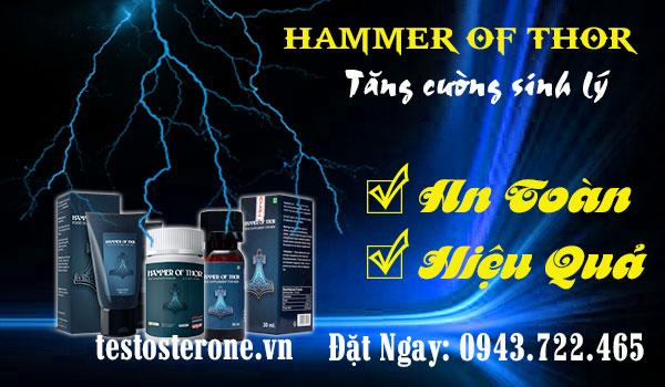thuốc cải thiện sinh l 253 nam giới hiệu quả hammer of thor