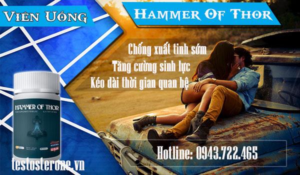 Giới thiệu thuốc viên Hammer of Thor